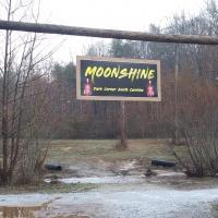 Moonshine at Dark Corner