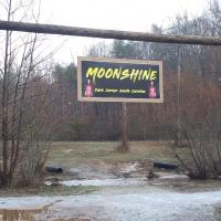 Moonshine at Dark Corner