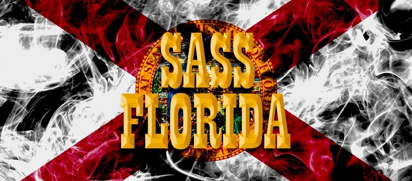 SASS Florida Banner yellow